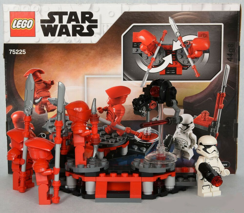 Star Wars Praetorian Guards Red Custom Lego Minifigures Set of 3