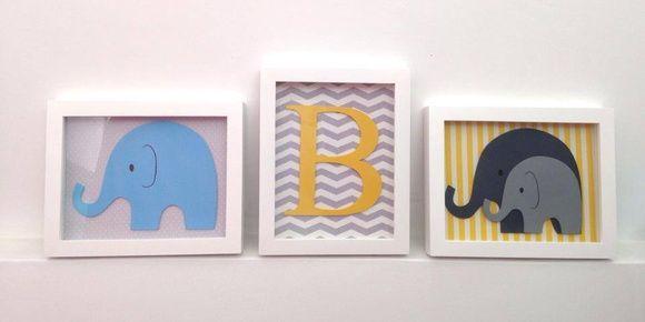 Quadrinhos em tamanho A4    Quadrinhos decorativos com moldura e vidro combinado com o tema do quarto do seu bebê!  Fazemos em tamanho sob medida, modelo e cor a sua escolha! R$ 75,00