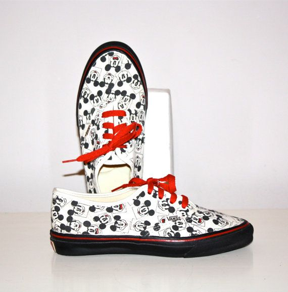 zapatos vans mickey mouse