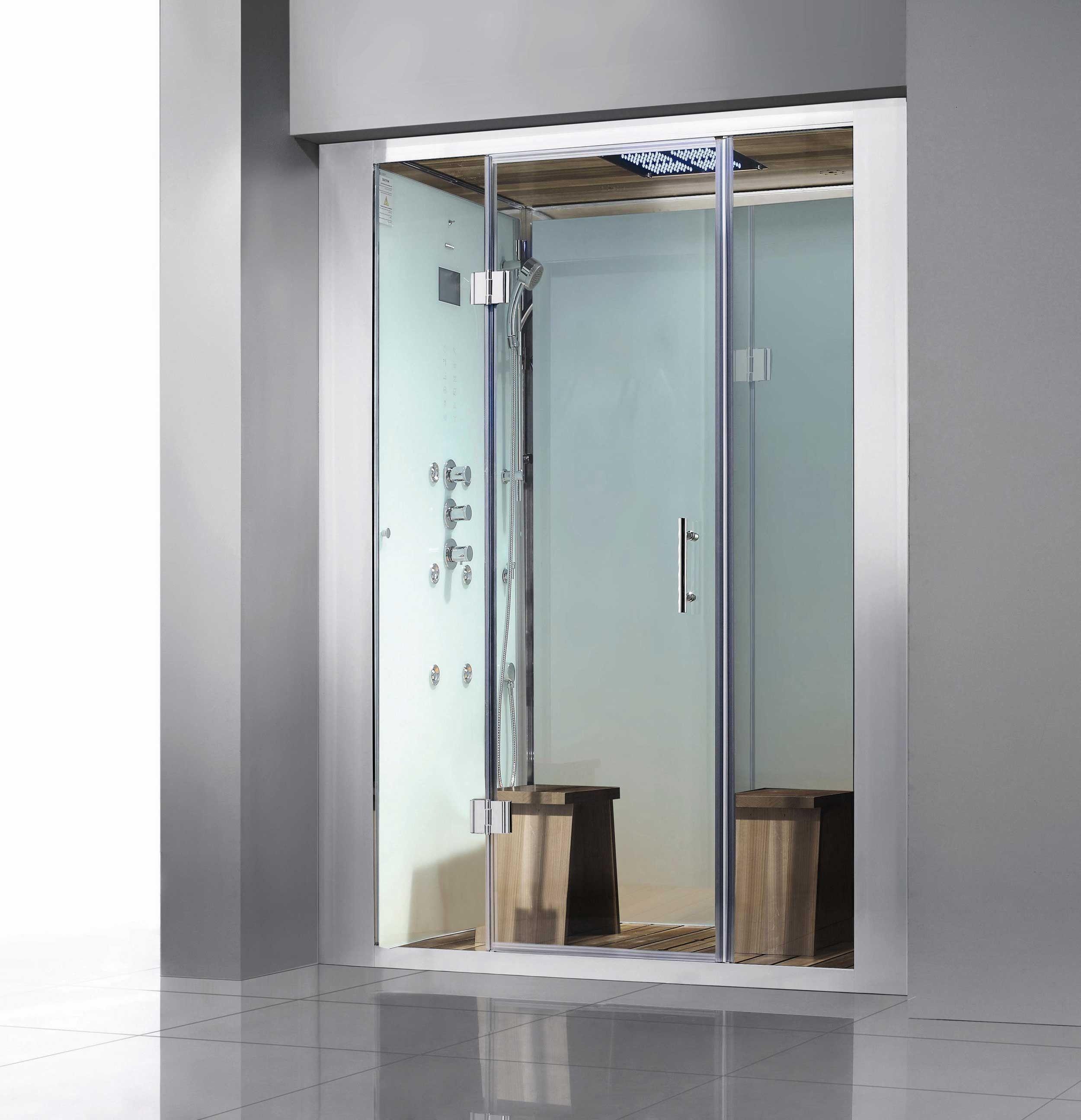 White Brunswick Steam Shower | House | Pinterest | Steam showers ...