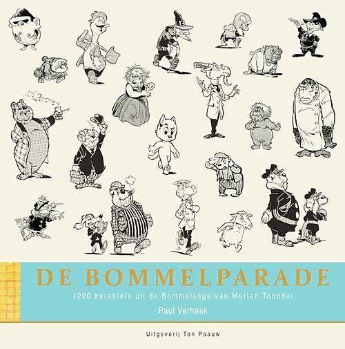 Nostalgie De Bommelparade 1200 Karakters Uit De