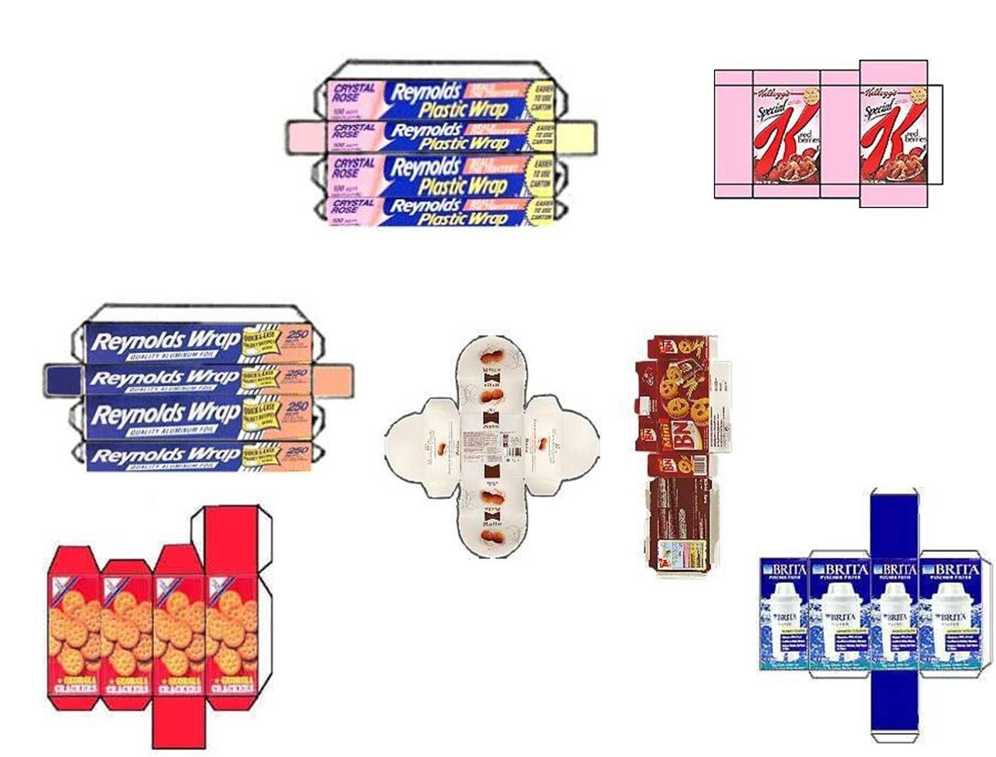 Miniaturas Para Casa De Muñecas A Escala 1 12 Con Muchos Tutoriales Para Que Hacerlo Tú Mismo Imprimibles Para Muñecas Imprimibles Miniaturas Cajas