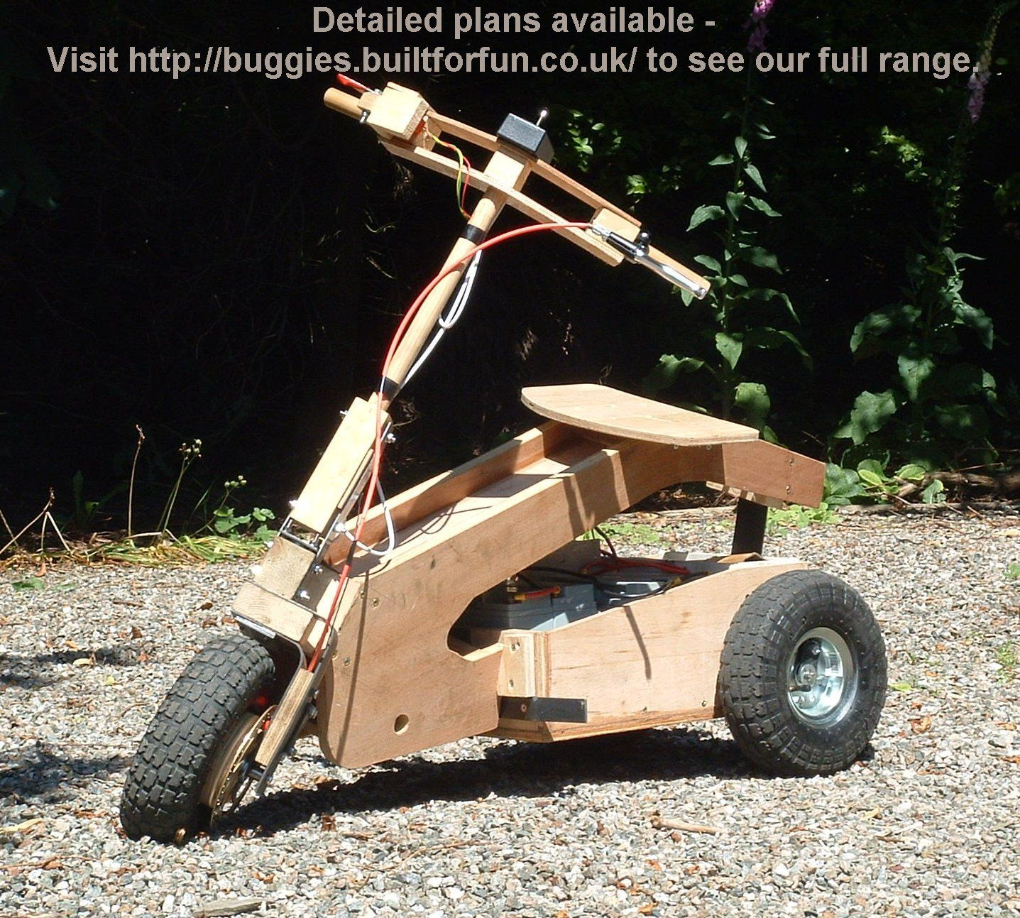 Diy Motorized Child S Car The Electrical System Is Standard For Small Electric Vehicles Ie Motor