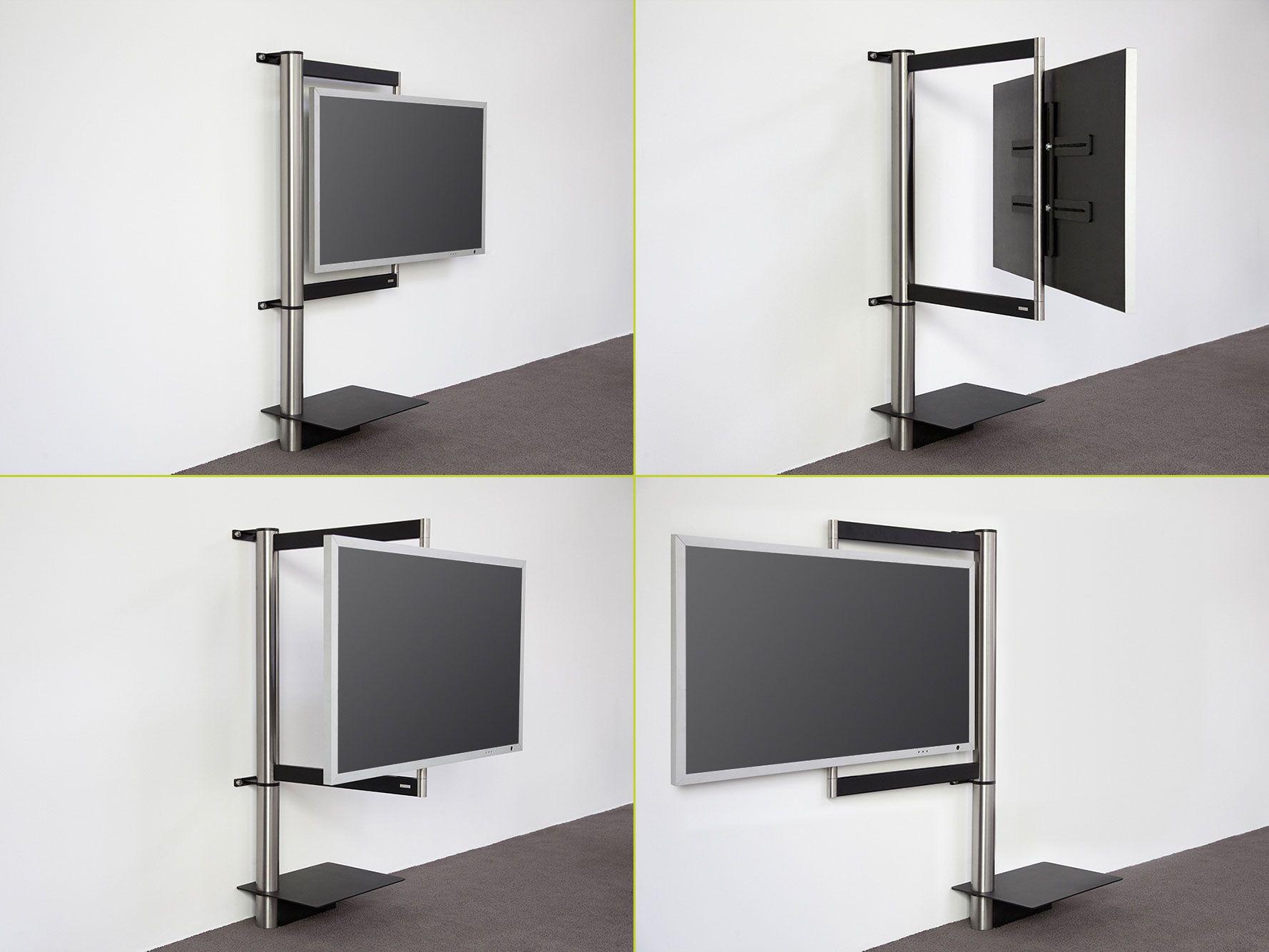 Wissmann Raumobjekte Porta Tv Girevole.Wissman Tv Wand Halter Art112 Interior Pinterest
