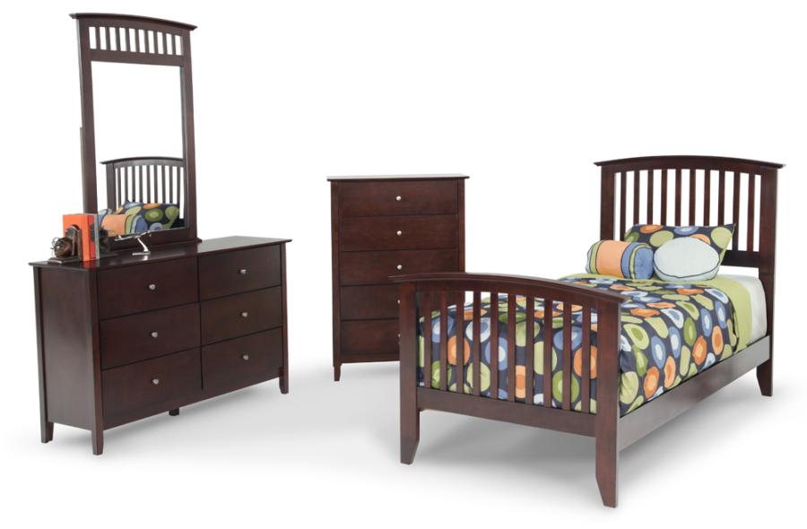 Tribeca bedroom set. Biggirl bedroom pieces for child
