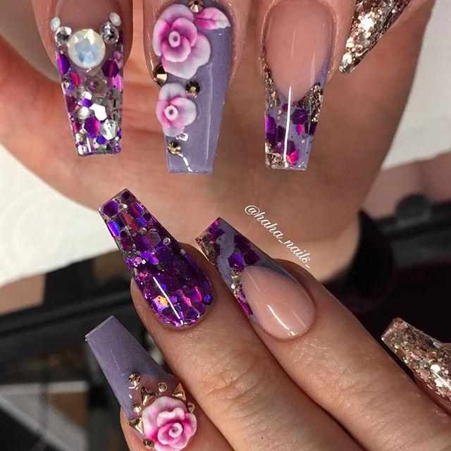 pinterest: @chicpeaach ♡ | N@iLs | Pinterest | Diseños de uñas, Uña ...