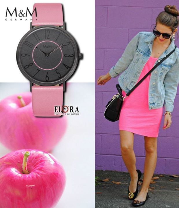 For all you lovers of pink!! Everything is better in pink!! Watches M&M Germany!! Δείτε την νέα ανοιξιάτικη συλλογή Μ&Μ Germany! Βρείτε ένα εξουσιοδοτημένο συνεργάτη μας δίπλα σας!!! http://www.elora-watches.gr/partner.php #MMGermany #springstyle #elorawatches #watches #newcollection #MMwatches #flower #spring #fashion #pink