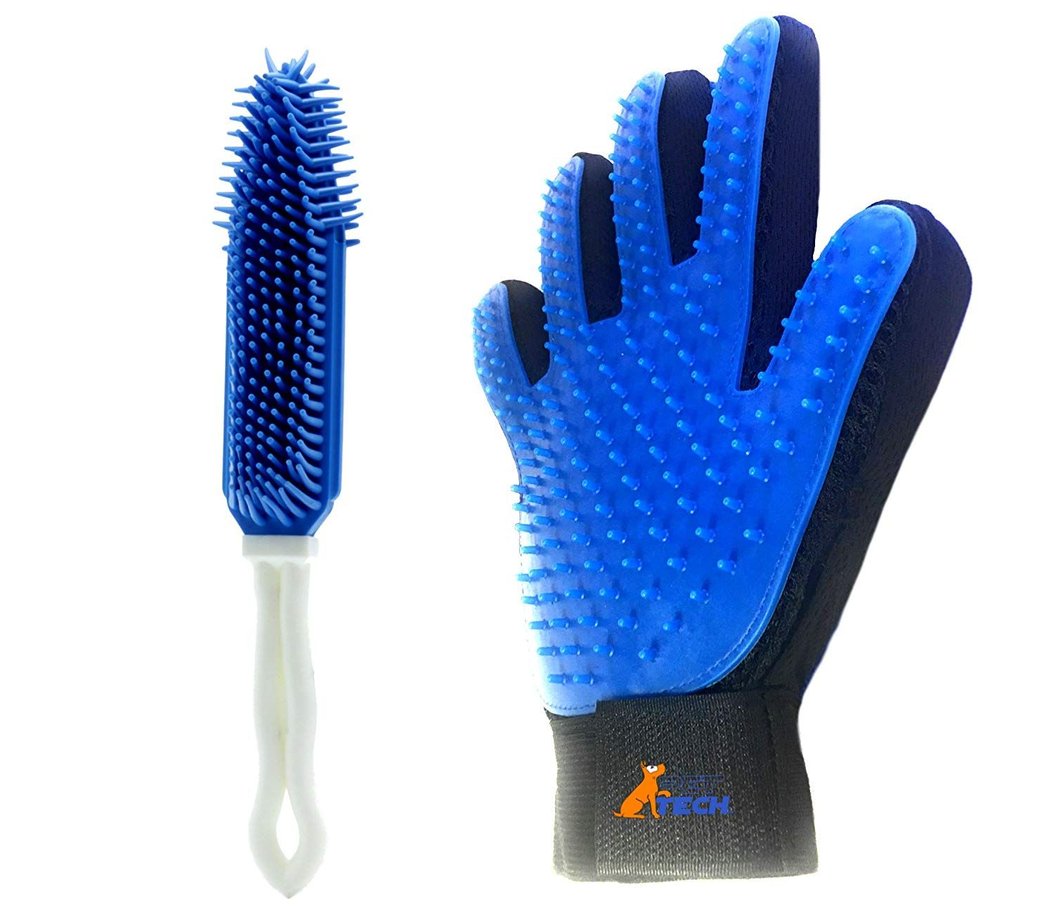 Pet Hair Remover DeShedding Glove for Cats