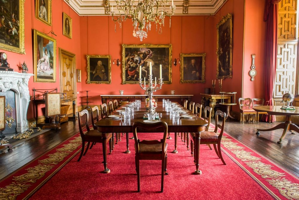 Click For Full Size Version  Dining Rooms  Pinterest  Castles Unique Castle Dining Room Inspiration