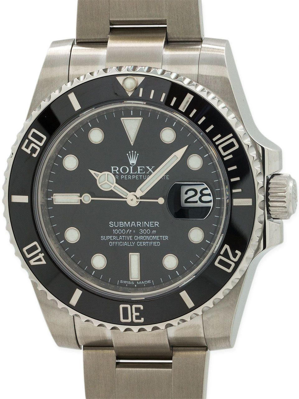 7fad93b083a Rolex Submariner ref 116610 Ceramic circa 2010+ - Rolex Submariner stainless  steel ref  116610 preowned minty condition with random serial  .