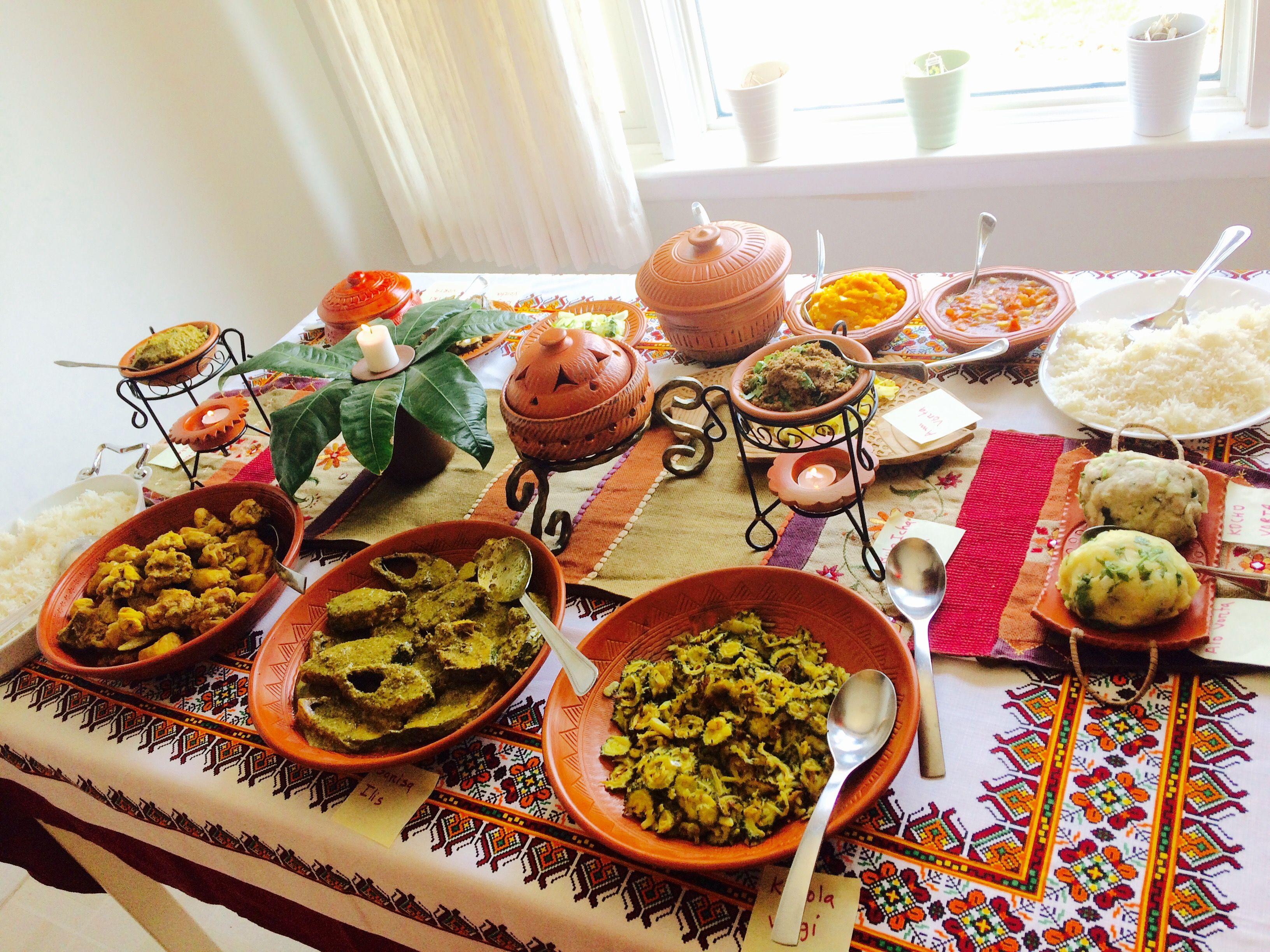 Boishakhi Food Table Food Decoration Bangladeshi Food Food Table