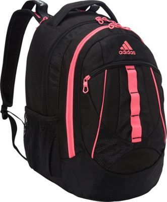 72d4c1041 adidas Hickory Backpack Black/Solar Pink - via eBags.com!   back to ...