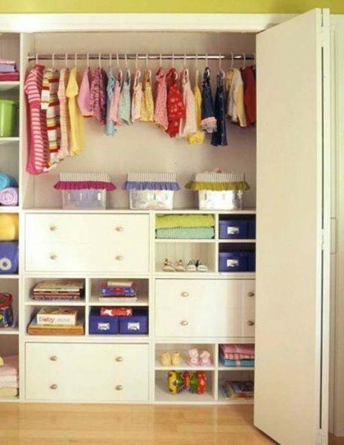 Ideal Wie kann man den Wandschrank im Kinderzimmer organisieren Cocuk odas Cocuk Elbise Dolabi