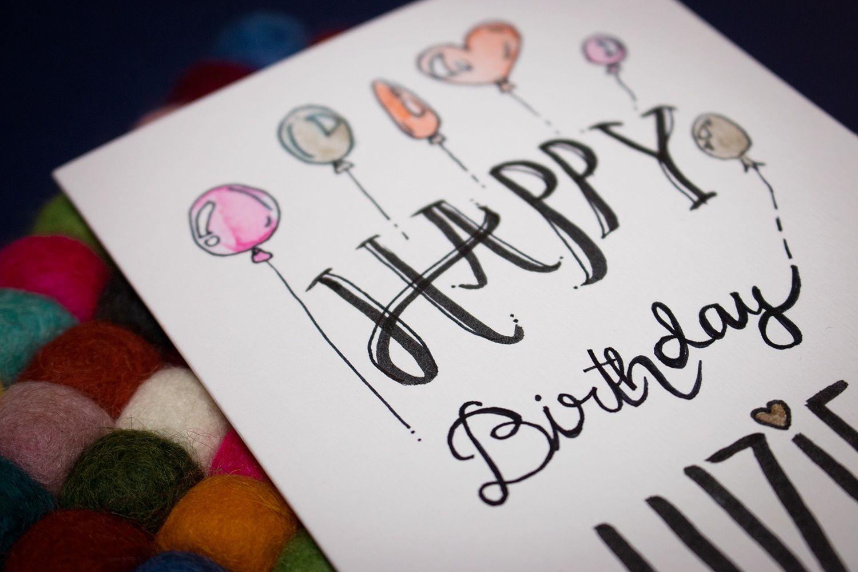 Zeichnen Malen Meine Ausrustung Geburtstag Karte Ideen Fur
