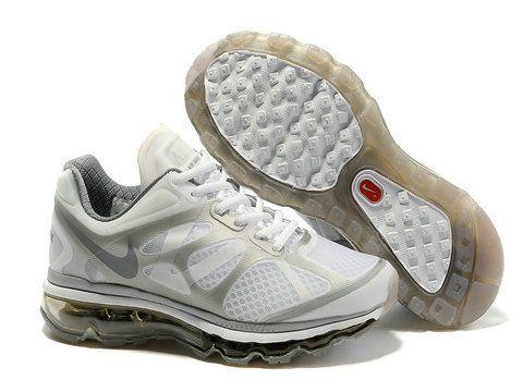 Womens Nike Air Max 2012 Summit White Metallic Silver Style