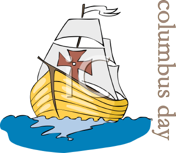 Columbus Day Is A Day To Celebrate The United States And The Native Americans Happy Columbus Day Christopher Columbus Ships Columbus