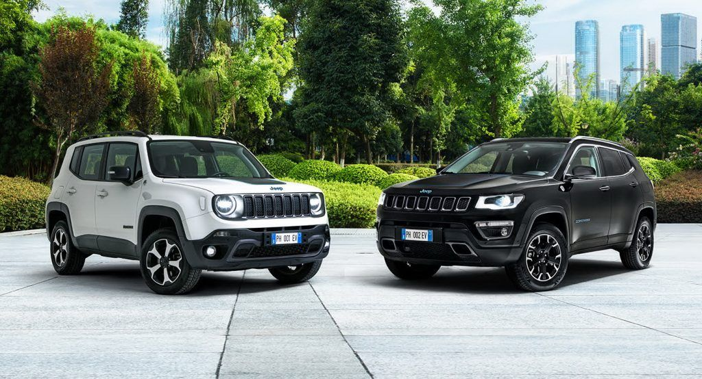 Jeep Launches Plug In Hybrid Renegade Compass 4xe First Edition In Europe Jeep Renegade Jeep Jeep Compass