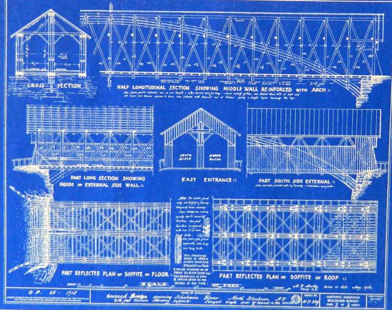 Covered Bridge Blueprints Bing Images Covered Bridges