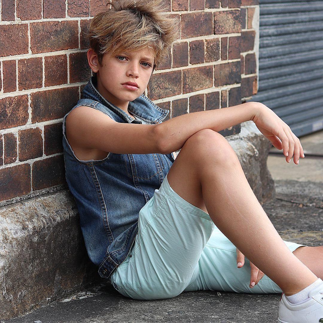 Young gay teen models