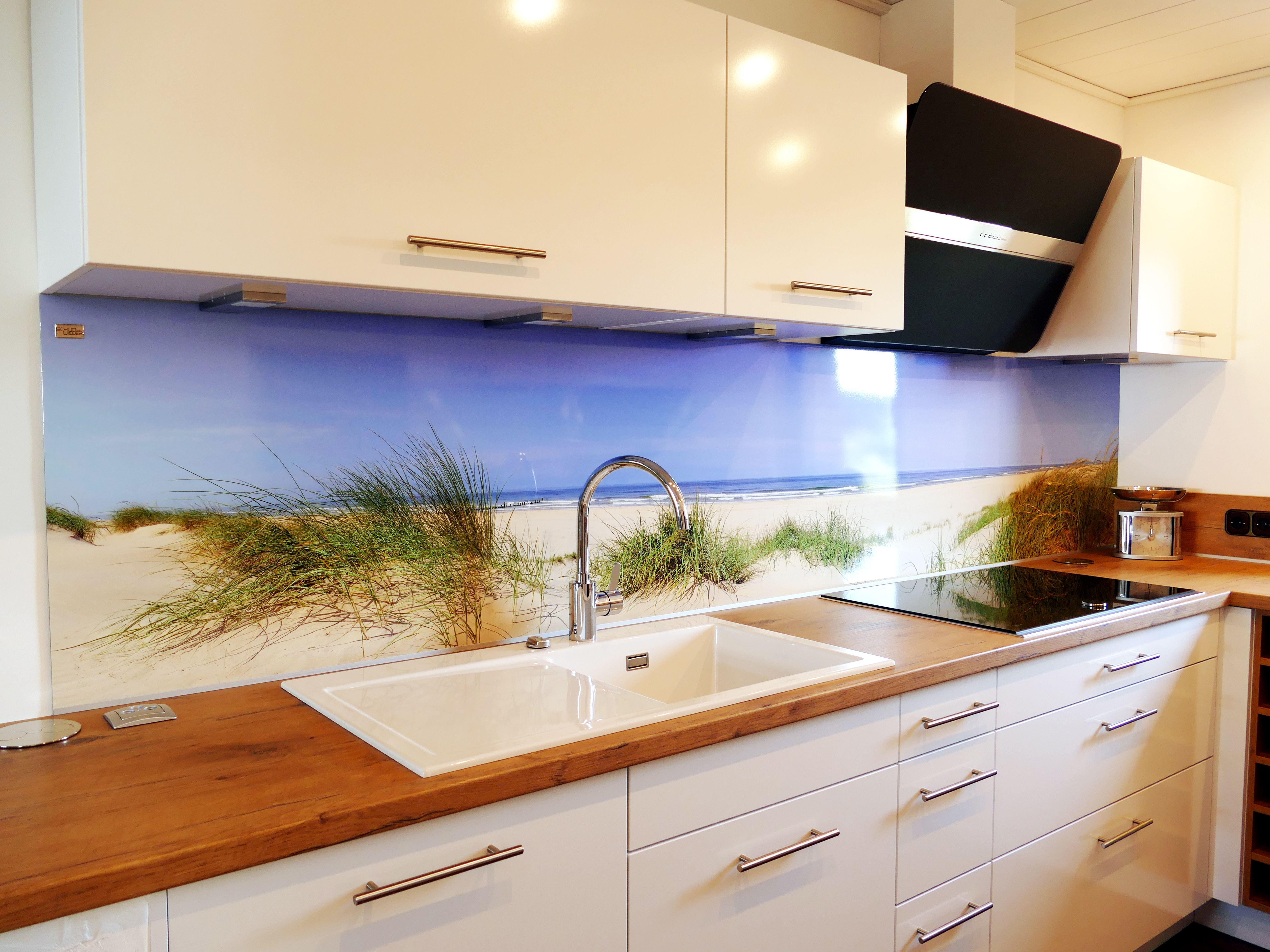 Küchenrückwände Glasrückwand küche, Innenarchitektur