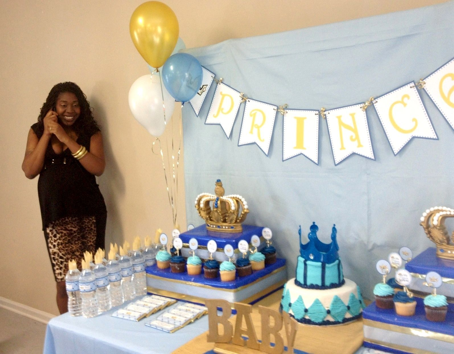 Perfect We Heart Parties: Little Prince Baby Shower?PartyImageIDu003dcde50157 2355 4de9