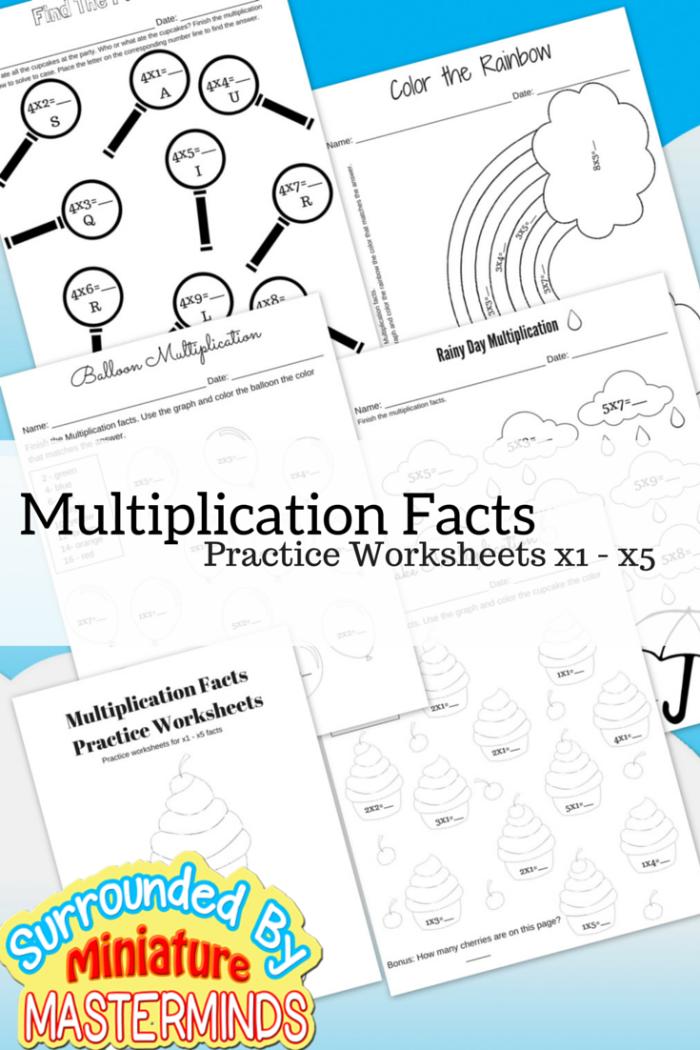 Multiplication-Facts1 | Kids Math Multiplicaton | Pinterest | Math ...