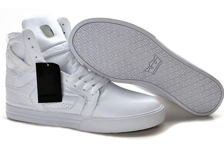 Supra Skytop II All White Men s Shoes  e2011675b4ab