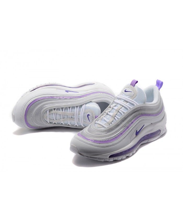 this Nike Air Max 97 GS Purple White Trainer is popular and