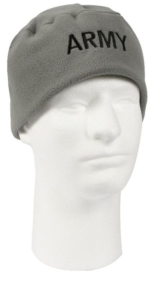 Army Embroidered Polar Fleece Hat Winter Watch Cap Foliage Green Rothco 8462 bec43a8e41e