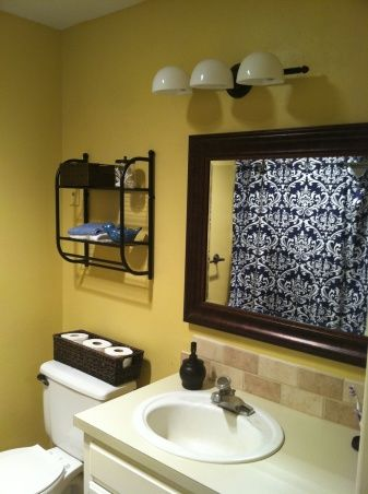 Blue Yellow Bathroom Yellow Bathrooms Blue Bathroom Decor Navy Blue Shower Curtain