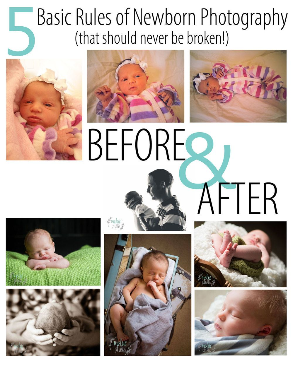5 Basic Rules of Newborn Photography