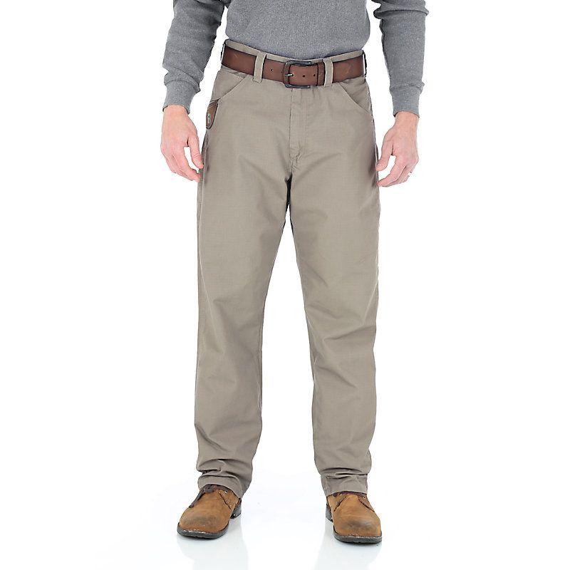 CARHARTT Pantaloni Ripstop CARGO WORK PANT Flannel Lined Gravel