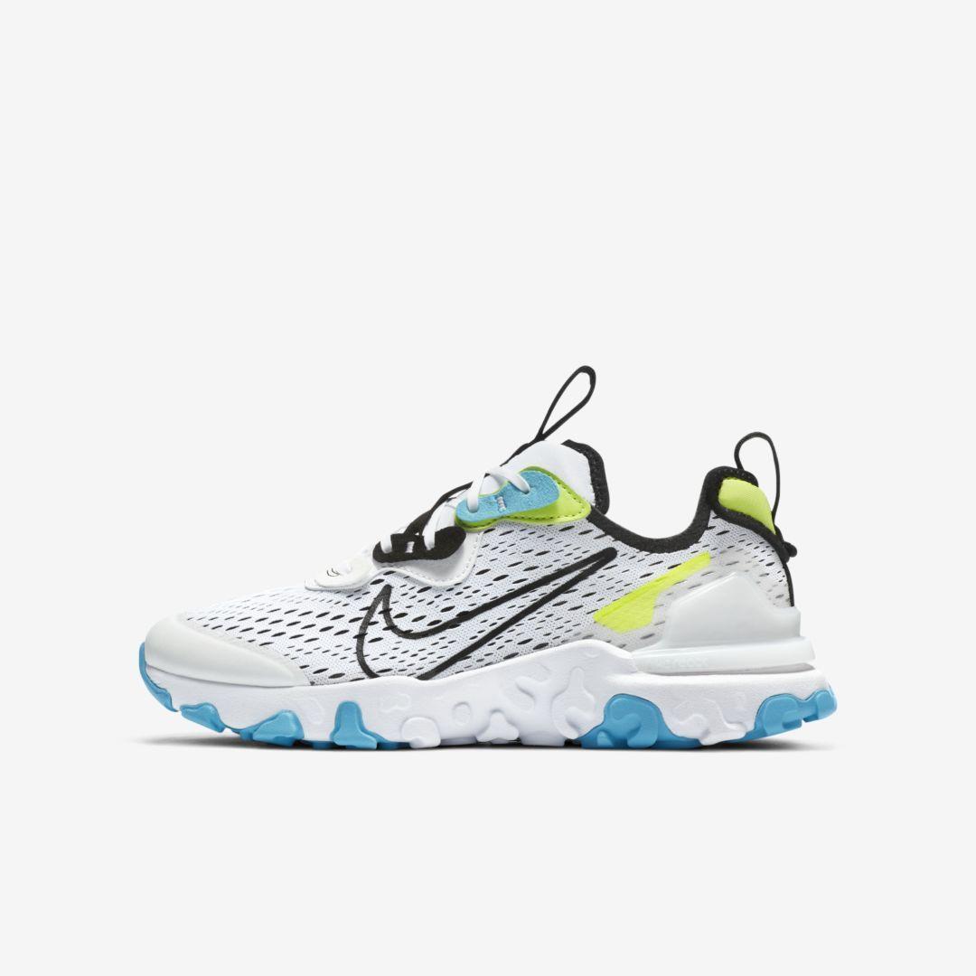 Nike React Vision Big Kids' Shoes. Nike.com in 2021 | Nike react ...