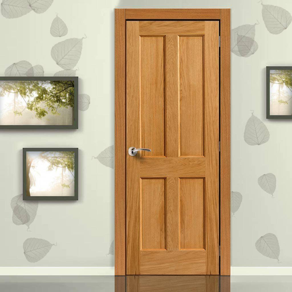 JBK River Oak Derwent Door providing a simple clean look from this great wooden door & River Oak Traditional Derwent Door | Varnishes Doors and Modern