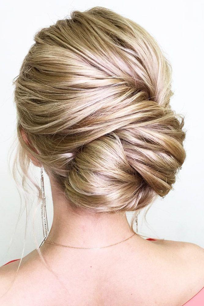 42 Chic Wedding Updos For Long Hair Long Hair Styles Medium Hair Styles Hair Styles
