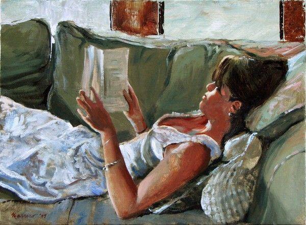 Women Reading - thomerama: Onelio Marrero