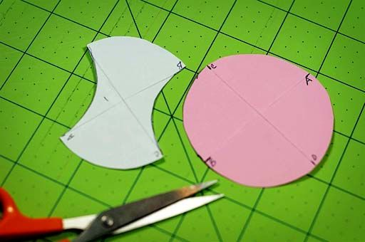How To Make An Apple Core Template Of Any Size Sewing