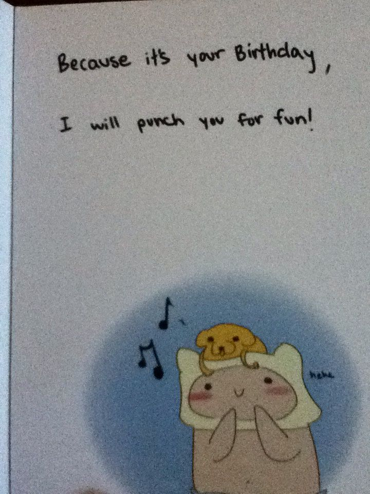 Adventure Time Birthday Card Adventuretimeparty Pinterest