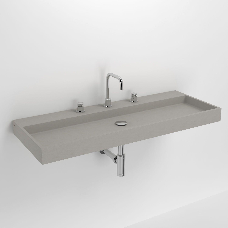 Wandmontiertes Waschbecken Aus Beton Wash Me Cl 02 11038 Clou