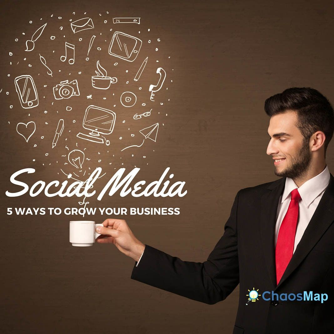 5 Ways To Grow Your Business Through The Power Of Social Media