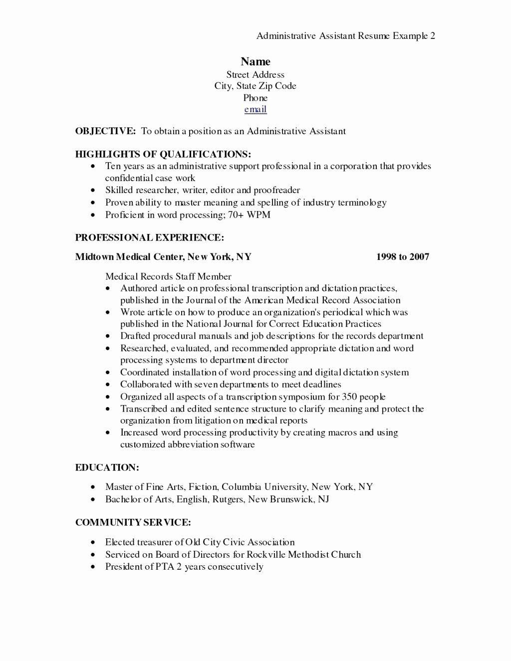 Billing and Coding Resume Luxury 10 Resume Objective