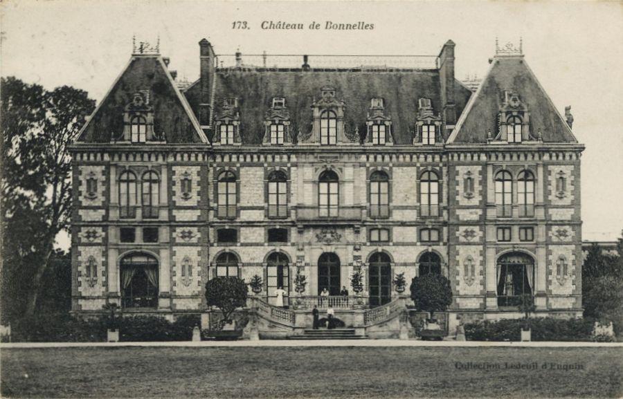Chateau de bonnelles playces pinterest ch teaux et for Maison des temps modernes