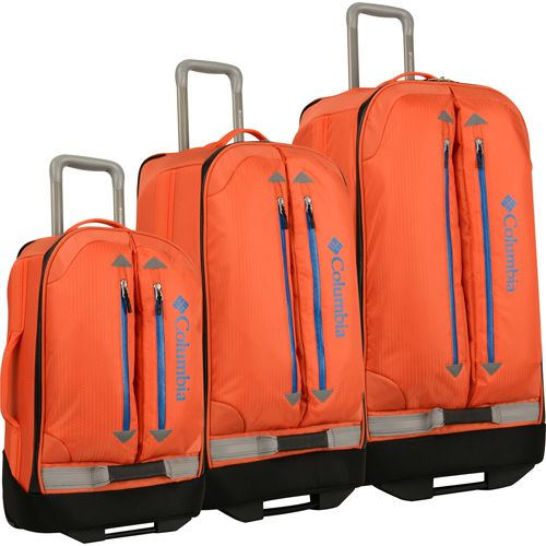 67e7013d6 Columbia Pack and Go 3 Piece Wheeled Luggage Set #Columbia #ColumbiaLuggage  #luggageset #luggage #suitcase #travel #PackandGo