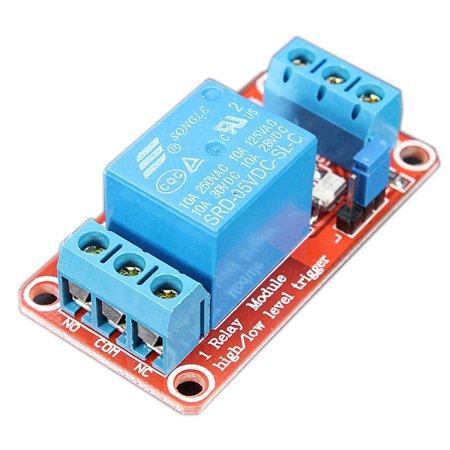 Grtsunsea 5v 1 Channel Level Trigger Optocoupler Relay Module For