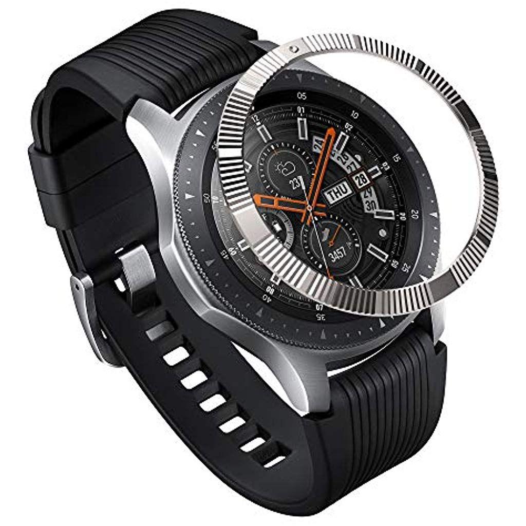 Ringke Bezel Styling For Galaxy Watch 46mm Galaxy Gear S3 Frontier Classic Bezel Ring Adhesive Cover Anti Sc Fitness Smart Watch Smart Watch Gear S3 Frontier