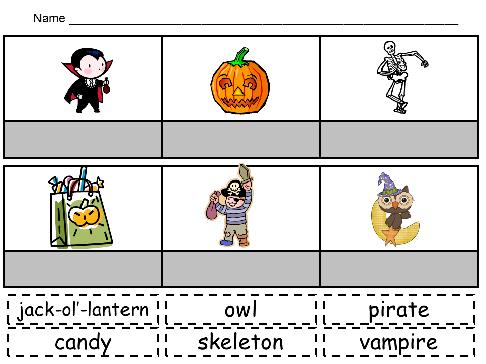 Kindergarten Celebration: Halloween Activities :)   KindergartenKlub ...