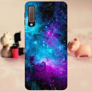 Case FOR Samsung A7 2018 Funda Phone Case Soft TPU sFOR Samsung A7 201