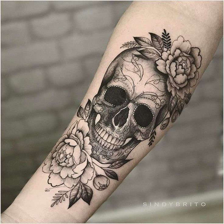 Photo of Yes!! I want a skull in my flower cover – artist