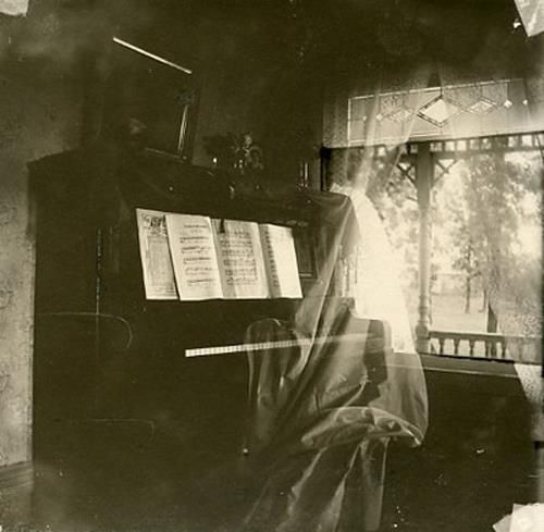 ghost at the piano