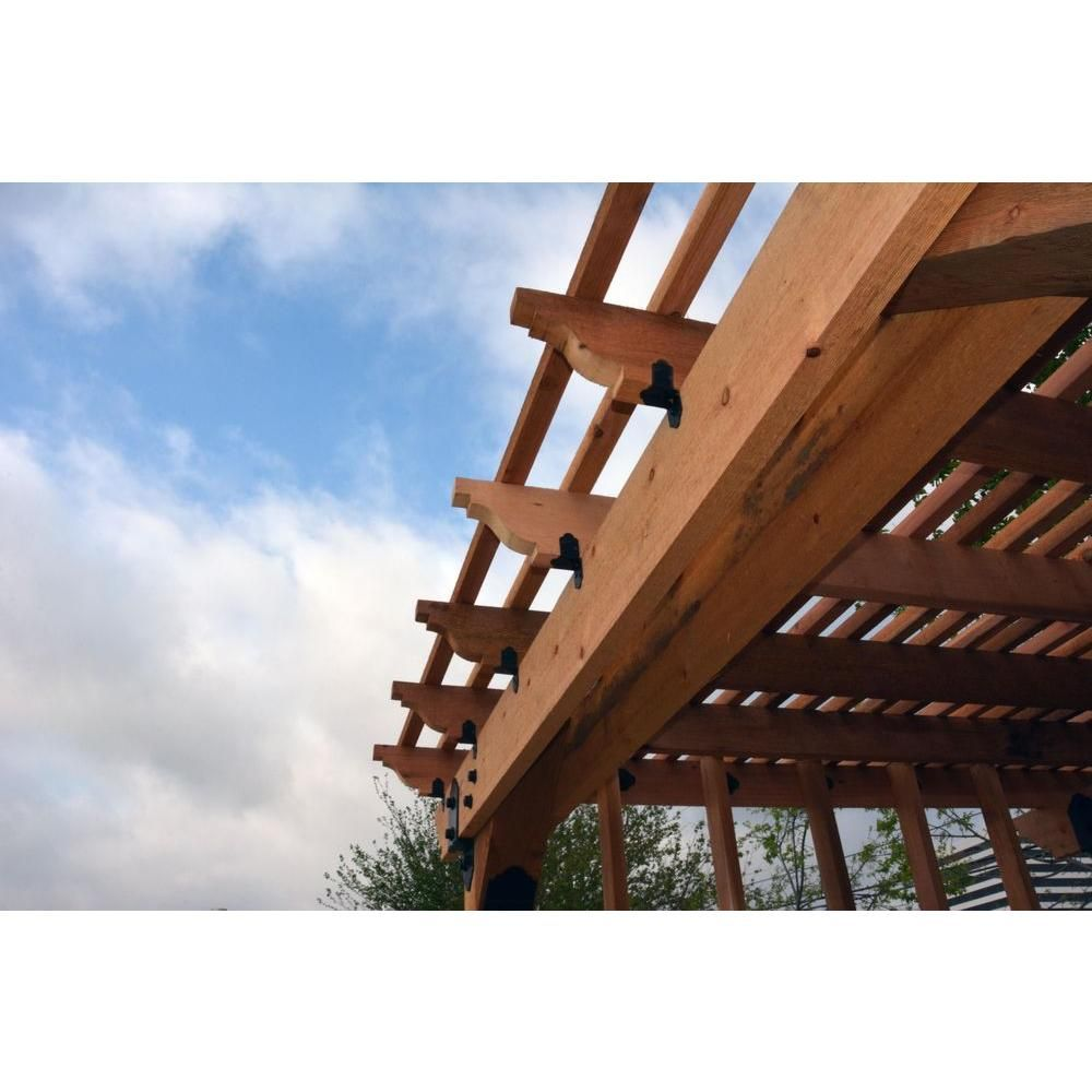 Owt ornamental wood ties 2 in high velocity rafter clip
